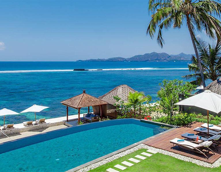 Villa Tirta Nila Candidasa Beachfront 4 Bedroom Bali